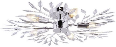 Leuchten Direkt Florence Ceiling Lamp 5x40W E14 Chrome