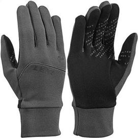 Перчатки Leki Urban MF Touch Charchoal/Black, 9