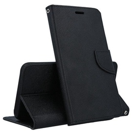 Mocco Fancy Book Case For Huawei P30 Lite Black