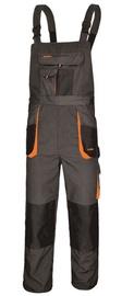 Art.Master Classic Working Bib Pants Grey/Orange 50
