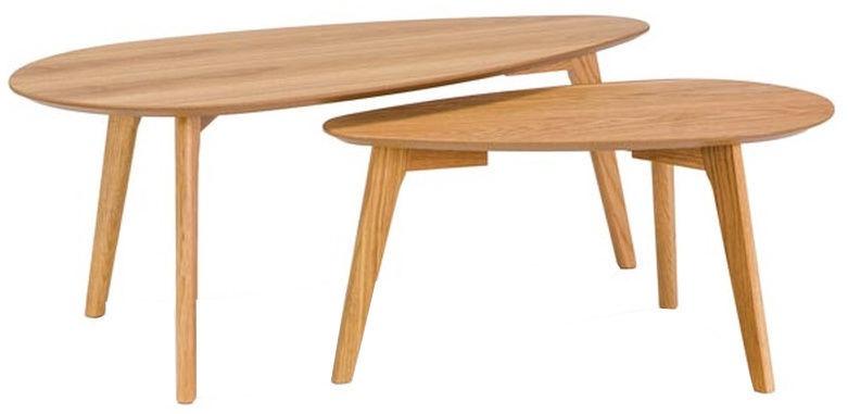 Kafijas galdiņš Signal Meble Lawa Milan L2 Oak, 1000x500x400 mm