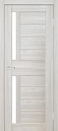 Полотно межкомнатной двери Cortex 01, серый/дубовый, 200 см x 80 см x 4 см