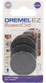 Шлифовальный диск Dremel 2615S411JA, K60, 30 мм, 6 шт.