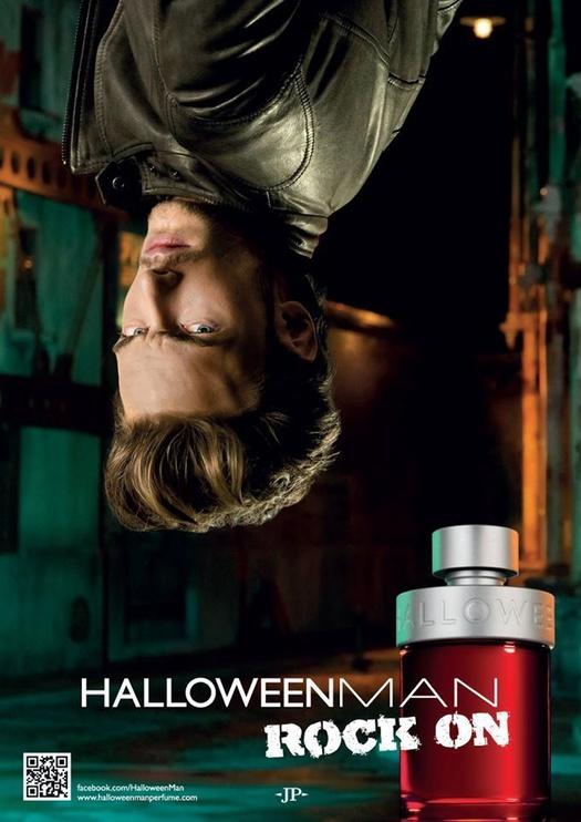 Jesus Del Pozo Halloween Man Rock On 125ml EDT + 100ml All Over Shower Gel + Armband