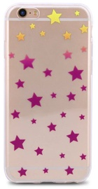 Mocco Trendy Stars Back Case For Apple iPhone 7/8 Bronze
