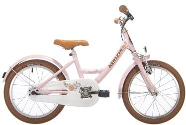 "Bērnu velosipēds Kenzel Luna Ceremony, brūna/rozā, 10"", 16"""