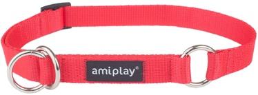Ошейник Amiplay Basic, красный, 400 мм