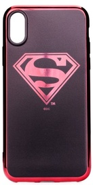 Disney Superman Luxury Chrome Back Case For Apple iPhone X/XS Black/Red