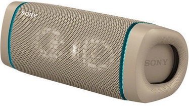 Sony SRS-XB33 Bluetooth Speaker Taupe