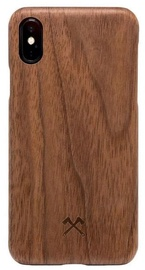 Woodcessories Slim Back Case For Apple iPhone XR Walnut