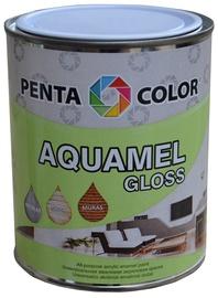 Pentacolor Aquamel Gloss Emulsion Paint White 0.7kg