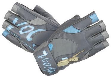 Mad Max Voodoo Gloves Grey Blue L