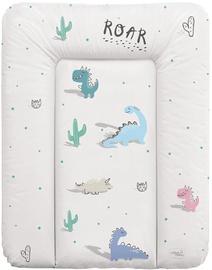 Matracis autiņu maiņai Ceba Baby Small Candy Andy Dino Soft, 70x50 cm, daudzkrāsains