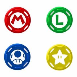 Hori Analog Caps Set Super Mario Edition