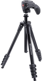 Manfrotto Compact Action Black Tripod + Head
