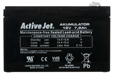Activejet ACP-AK7 UPS Battery Sealed Lead Acid 12V