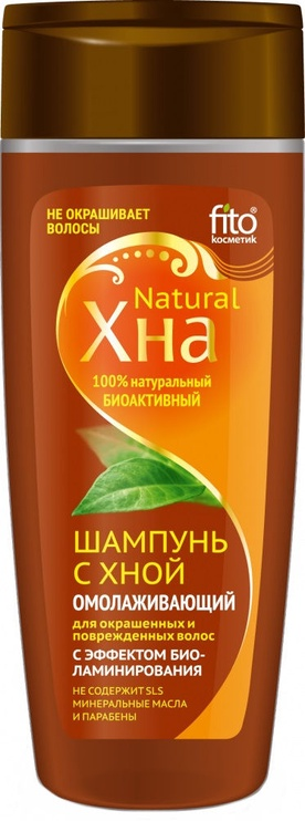Fito Kosmetik Shampoo With Henna Biolamination Effect 270ml