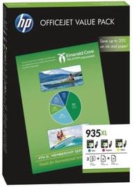HP 935XL Cartridge Yellow 825p Magenta 825p Cyan 825p