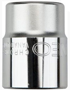 "NEO Hexagonal Socket Cr-V 11mm 1/2"""