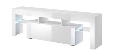ТВ стол Cama Meble Toro 138, белый, 1380x400x410 мм