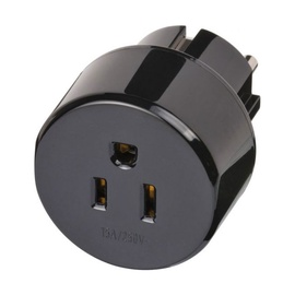 Brennenstuhl 1508520 Power Socket Adapter From USA/JP To Euro Plug