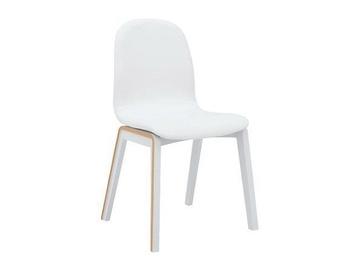 Ēdamistabas krēsls Black Red White Todo White