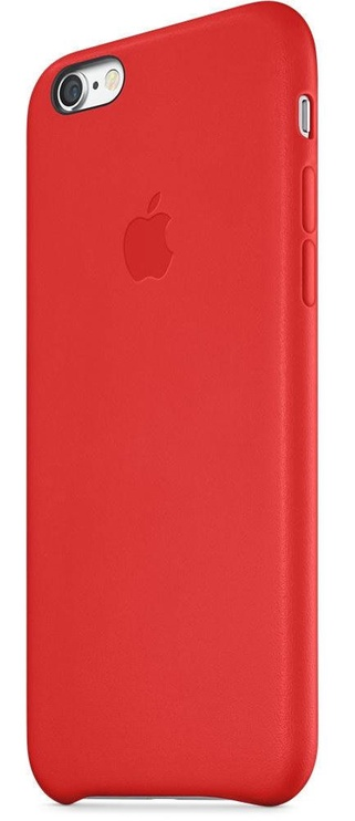 Apple Case For iPhone 6s Plus Leather Red