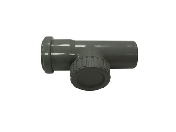 Magnaplast HTRE 3-Way Pipe Grey 50mm