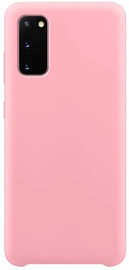 Hurtel Soft Flexible Rubber Back Case For Samsung Galaxy S20 Pink