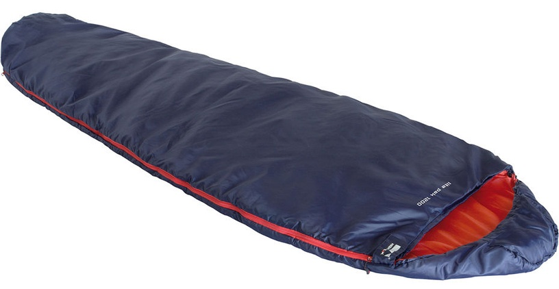 Guļammaiss High Peak Lite Pak 1200 Navy Orange, kreisais, 225 cm