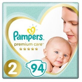 Autiņbiksītes Pampers Premium Care, 2, 94 gab.