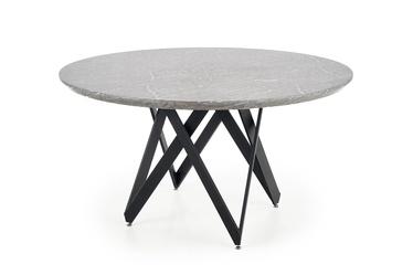 Pusdienu galds Halmar Gustimo Grey, 1400x1400x770 mm
