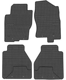 Резиновый автомобильный коврик Frogum Nissan Navara/Pathfinder 2010, 4 шт.