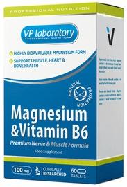 VPLab Magnesium & Vitamin B6 60 Caps