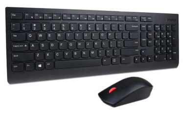 Lenovo Professional Wireless Keyboard And Mouse Combo ENG Black