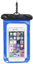TakeMe Universal Waterproof Slim Case For Mobile Devices 6'' Blue