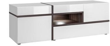 ТВ стол ASM RTV Cross, белый, 1500x500x520 мм
