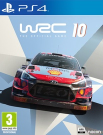 PlayStation 4 (PS4) spēle Nacon WRC 10