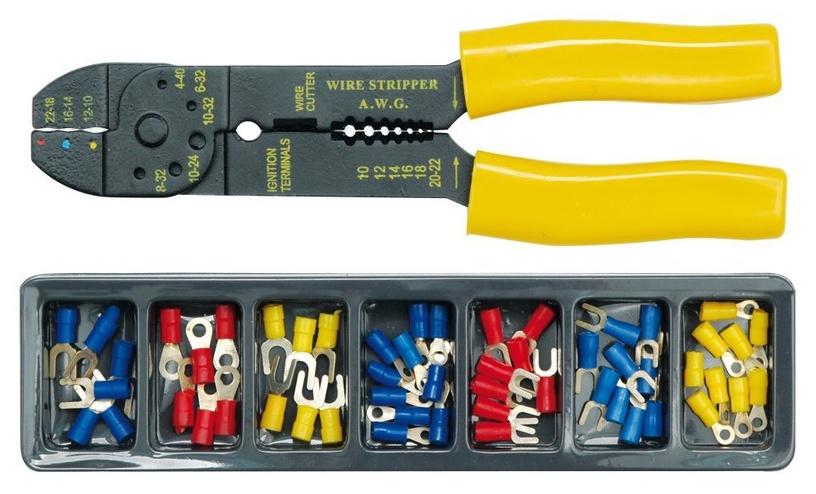 Vorel Wire Strippers Terminal Kit 45050