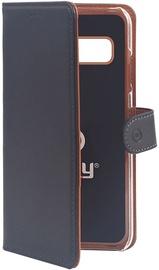 Celly Wally Book Case For Samsung Galaxy S10e Black