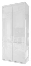 Skapis Tuckano Glance White, 91x50x196 cm