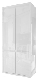Skapis Tuckano Glance, balta, 91x50x196 cm