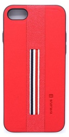 Evelatus Dazzel Back Case For Apple iPhone 7/8 Red