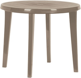 Садовый стол Keter Lisa, кремовый, 90 x 90 x 73 см