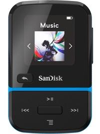 Музыкальный проигрыватель Sandisk Sport Go Blue, 32 ГБ