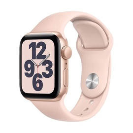 Apple Watch SE GPS 40mm Gold Aluminum Pink Sport Band