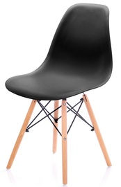 Ēdamistabas krēsls Homede Margot, melna