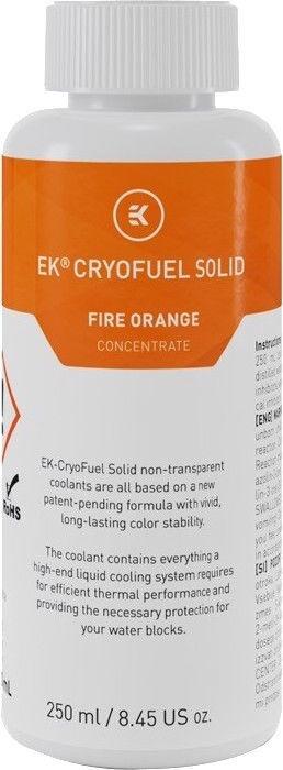 EK Water Blocks EK-CryoFuel Solid Fire Orange (Conc. 250mL)