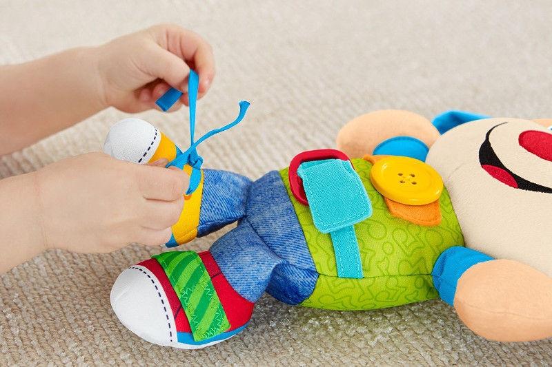 Interaktīva rotaļlieta Fisher Price Laugh & Learn Learn To Dress Puppy FBP23
