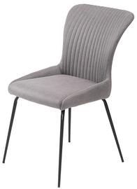 Ēdamistabas krēsls Halmar K341 Grey/Black